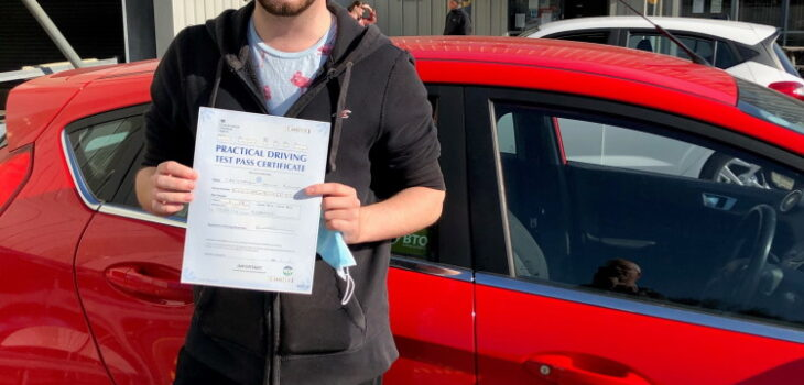 Chris B, Whitley Bay - First Time Driving Pass