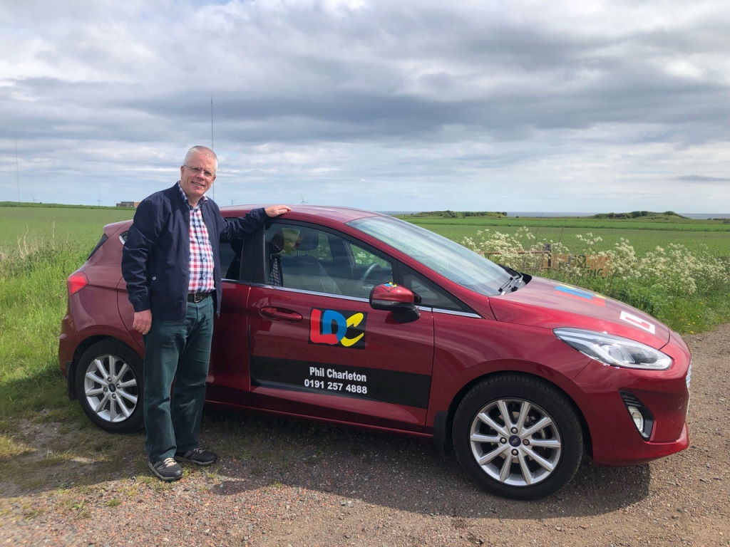 Phil Charleton Driving Lessons North Shields Monkseaton Whitley Bay